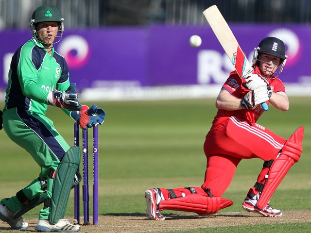 Eoin Morgan: Sealed victory with a towering six