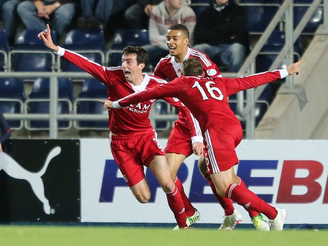 Joe Shaughnessy: Back in the picture for Aberdeen