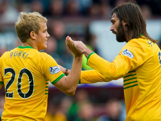 Teemu Pukki scored on his Celtic debut