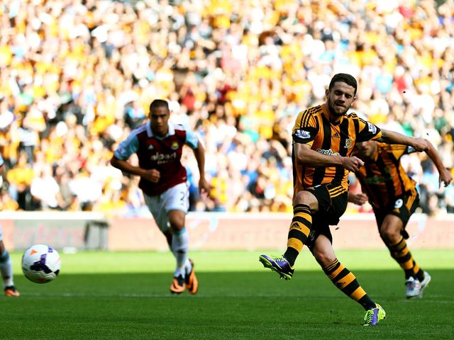 Robbie Brady scores from the penalty spot