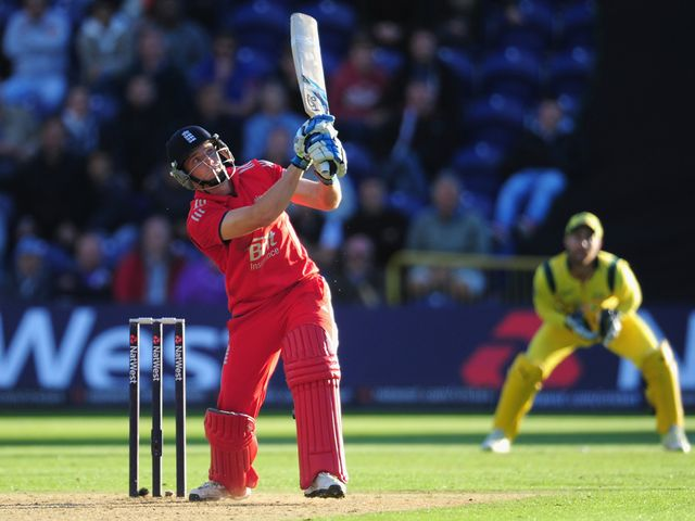 Jos Buttler: Scored 65 not out in England win
