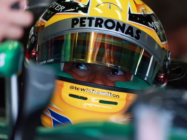 Lewis Hamilton: Left his rivals in the shade