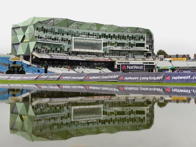 Heavy rain scuppered any hopes of play at Headingley