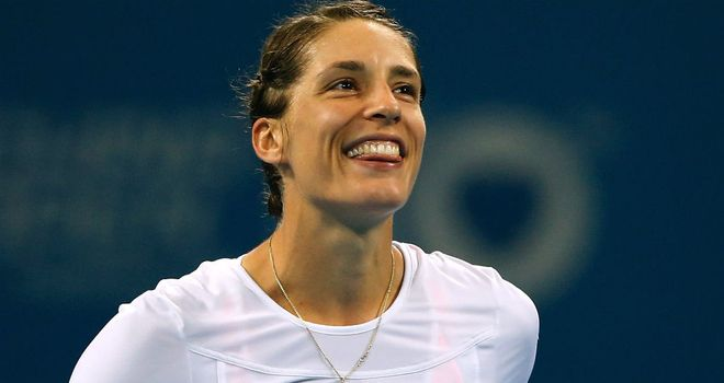 Andrea Petkovic: Won in the deciding set