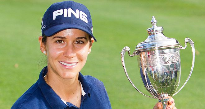 Azahara Munoz: Third Ladies European Tour title