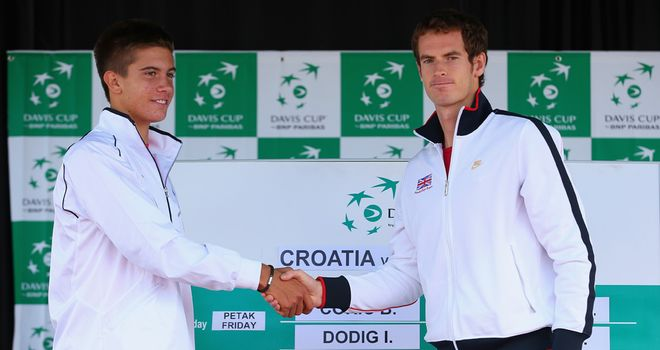 Borna Coric and Andy Murray: First on in Umag on Friday