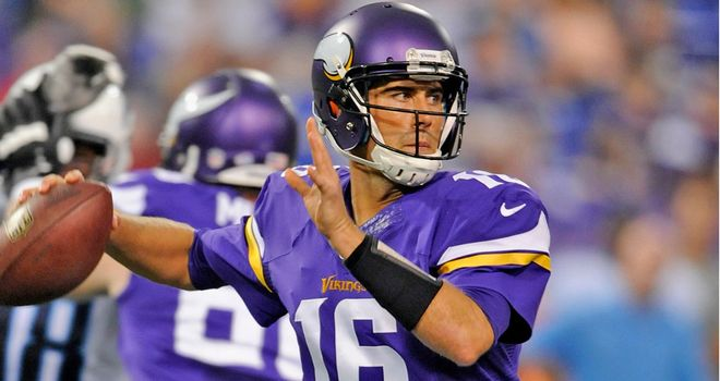 Matt Cassel: Replaces Christian Ponder as Minnesota QB