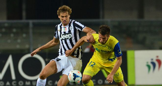 Fernando Llorente in action for Juventus.