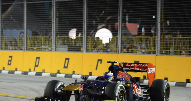 Daniel Ricciardo: Qualified in the top ten for the fifth time in six races