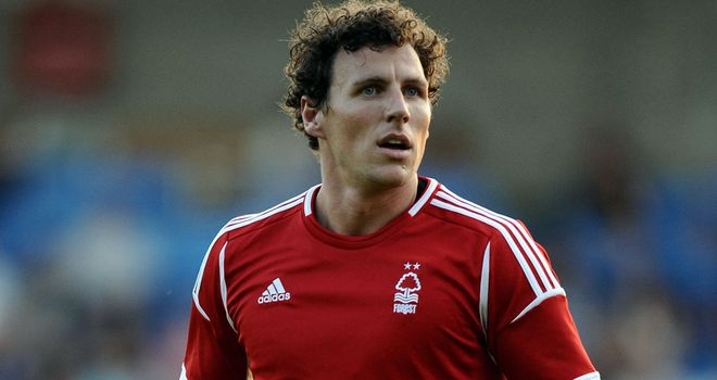Darius Henderson: Saw red in Nottingham Forest's draw at Birmingham