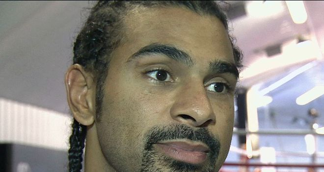 David Haye: Fury in for a hard night