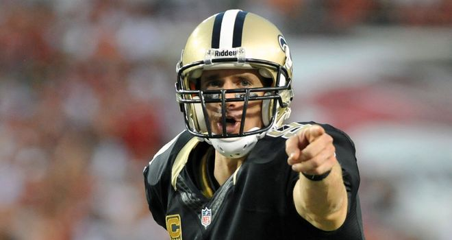 Drew Brees will be the main man for the Saints