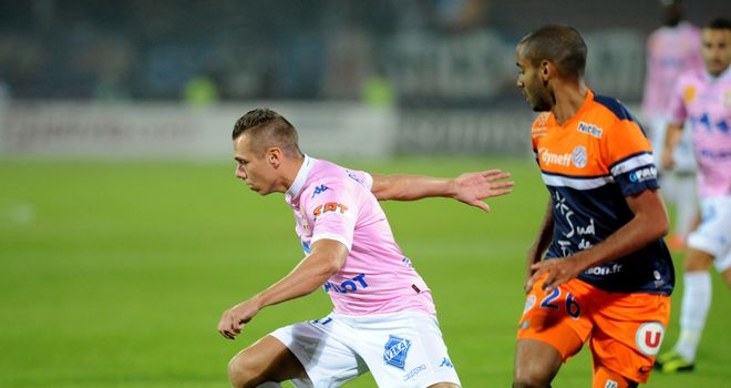 Kevin Berigaud: On target for Evian