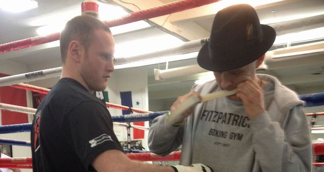 New trainer Paddy Fitzpatrick will oversee George Groves' preparations