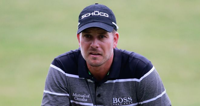 Henrik Stenson: Saw nine-shot lead cut back to four again