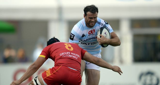 Jamie Roberts: Will miss Racing Metro's opening Heineken Cup games through injury