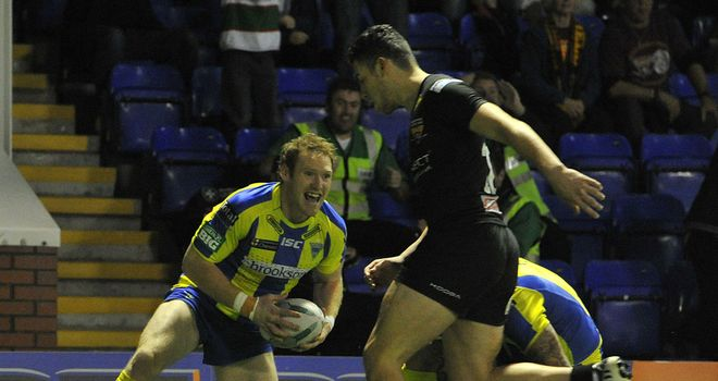 Joel Monaghan: On target for Warrington