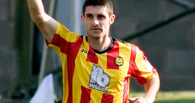 Kris Doolan: Early opener for Thistle