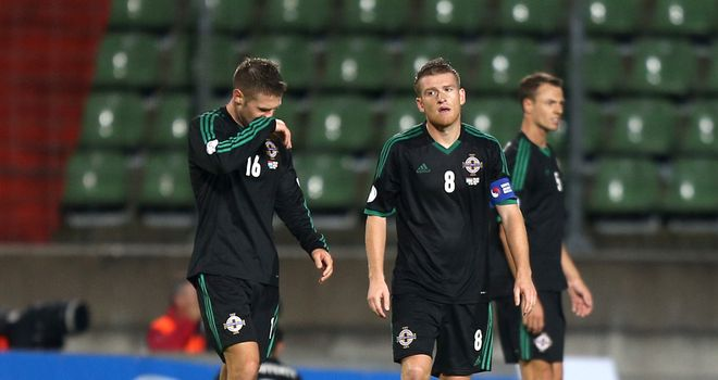 Northern Ireland: Slipped to embarrassing defeat in Luxembourg