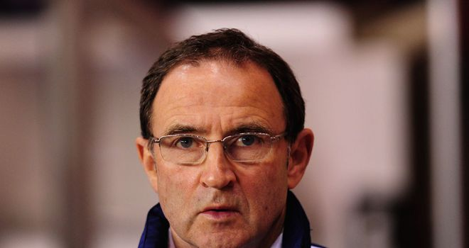 Martin O'Neill: Favourite to replace Giovanni Trapattoni