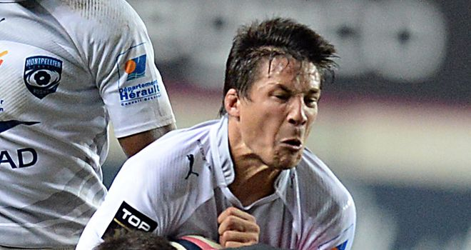 Francois Trinh-Duc: No room in touring party for Montpellier fly-half