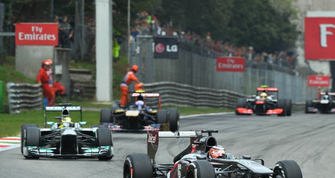 Nico Hulkenberg: Finished fifth at Monza