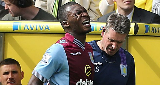 Christian Benteke: May return from injury sooner than anticipated