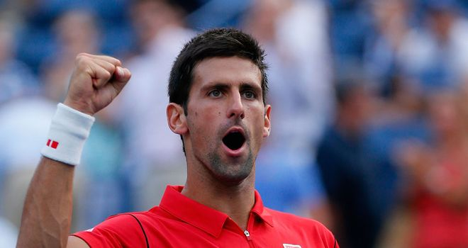 Djokovic: crushed a fatigued Granollers to reach the quarter-finals