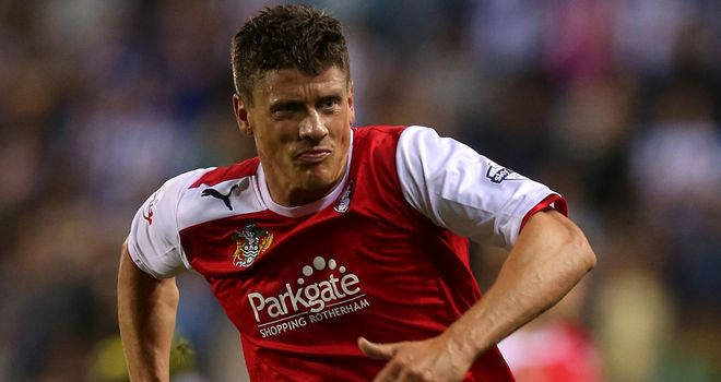 Alex Revell: Scored for Rotherham