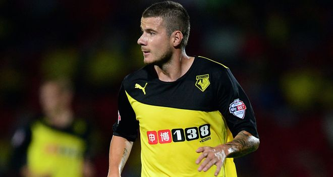 Daniel Pudil: Scored to claim a point for Watford