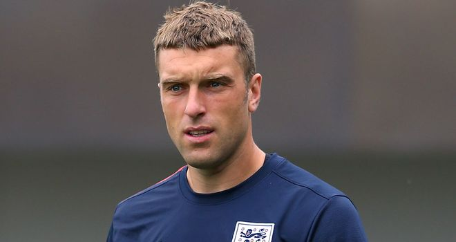 Rickie Lambert will lead the line as he makes his full England debut