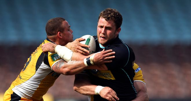 Scott Wheeldon: Former London Bronco has joined the Castleford Tigers on a two-year contract