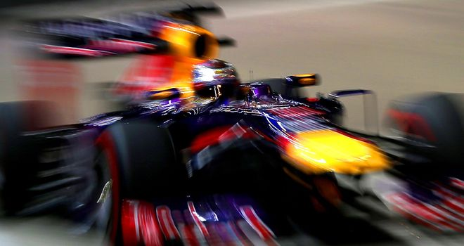Sebastian Vettel: Was 0.6s faster than the field in opening practice