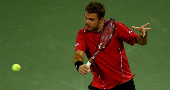 Stanislas Wawrinka: Has warned Andy Murray that he is playing better than ever