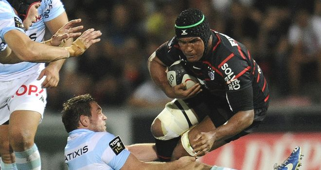 Thierry Dusautoir: Returns on the bench for Toulouse after injury