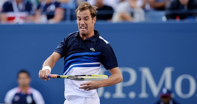Richard Gasquet: Reached the semi-finals of the US Open last year