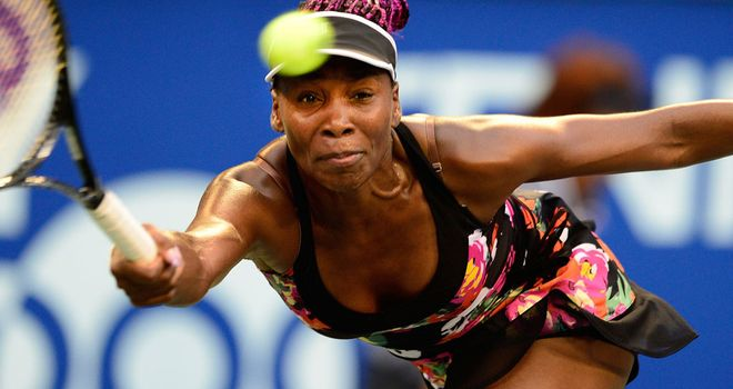 Venus Williams: American through to the second round in Tokyo where she will face top seed Victoria Azarenka