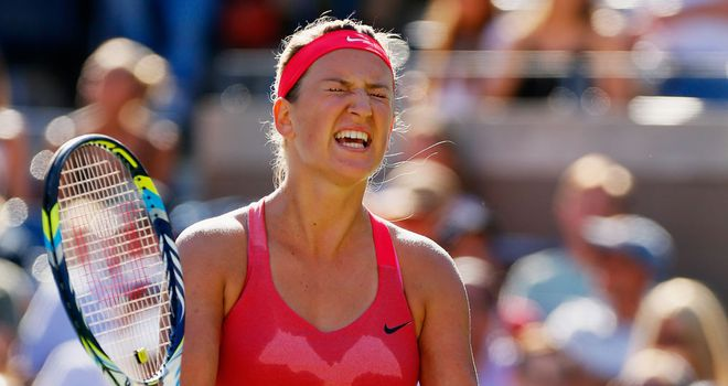 Azarenka: will her Sunday night end in anguish?