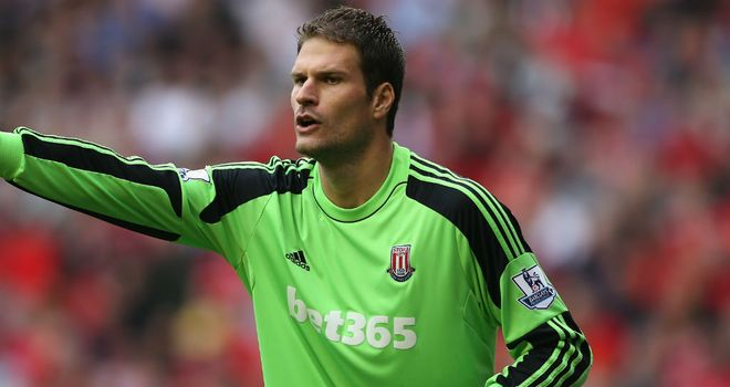 Asmir Begovic: Has been linked with move to Real Madrid
