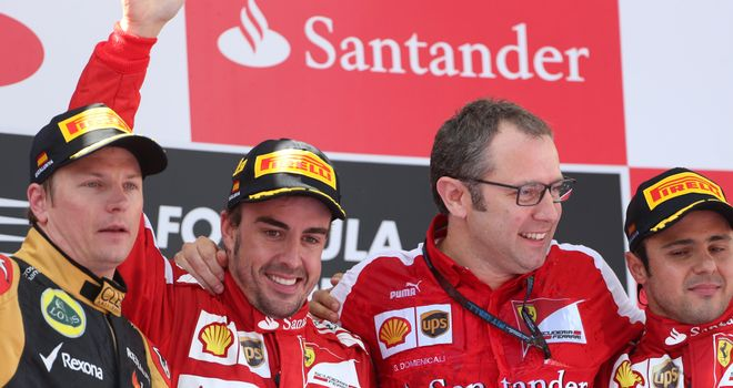 Stefano Domenicali: Says Raikkonen is best choice to partner Alonso