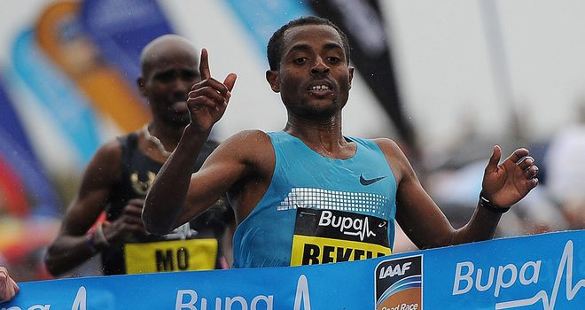 Kenenisa Bekele: Will run a marathon for the first time in Paris