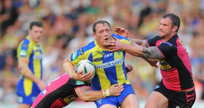 Leeds were blown away by Warrington's Ben Westwood on Saturday