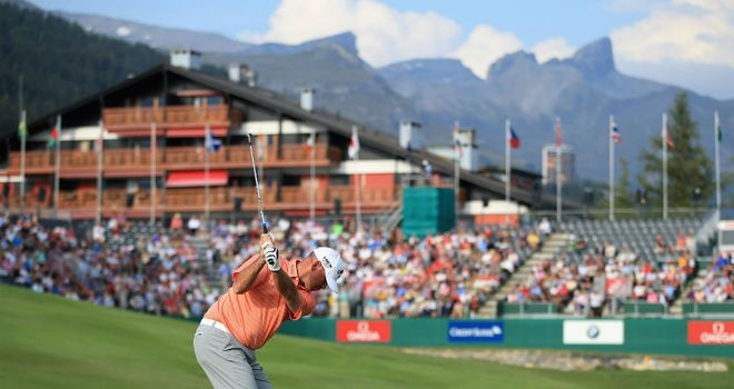 Thomas Bjorn: Share of the lead with Stephen Gallacher in Switzerland
