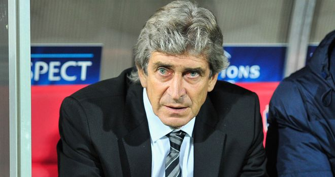 Manuel Pellegrini: Will have been disappointed with the first half but City improved