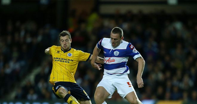 Richard Dunne: Battles for possession with Ashley Barnes