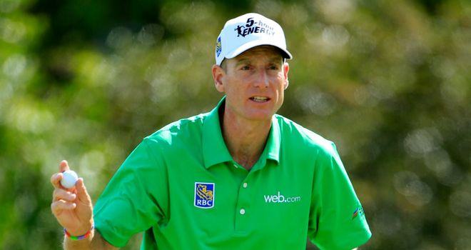 Jim Furyk: One-shot lead heading into final round
