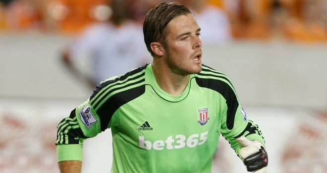 Jack Butland: Hoping to retain Stoke place