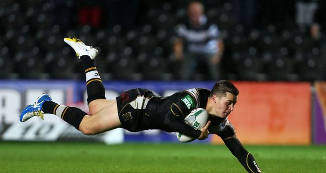 Jamie Shaul: Hull full-back crossed for two of his side's eight tries