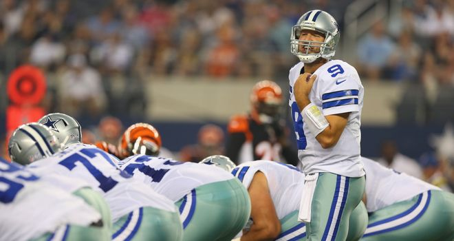 Tony Romo: Has a big price tag to live up to this season