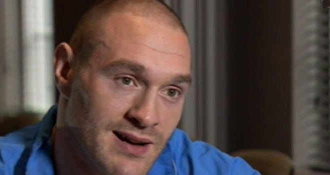 Tyson Fury: Has turned his attentions to Deontay Wilder after David Haye injury